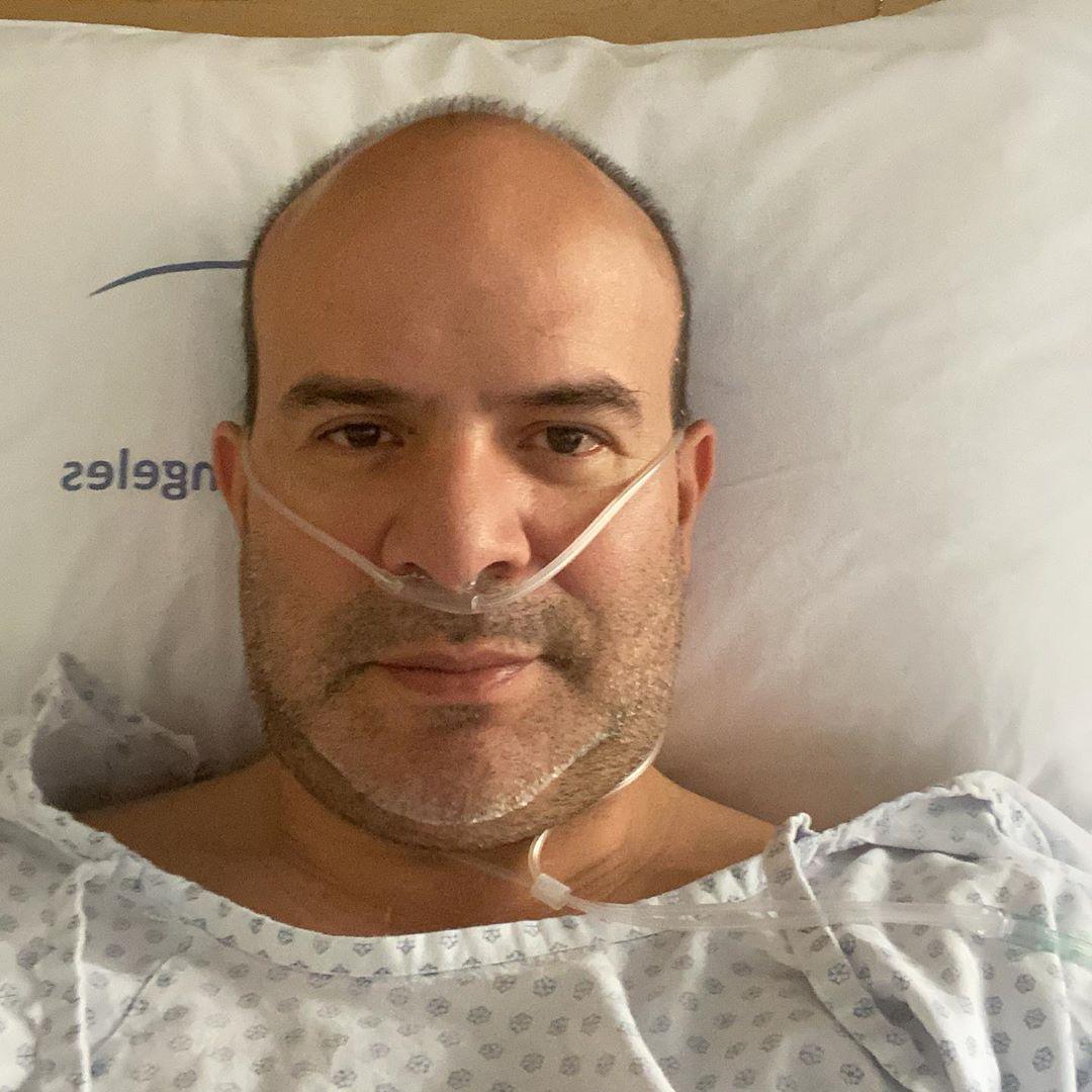 Platanito hospitalizado