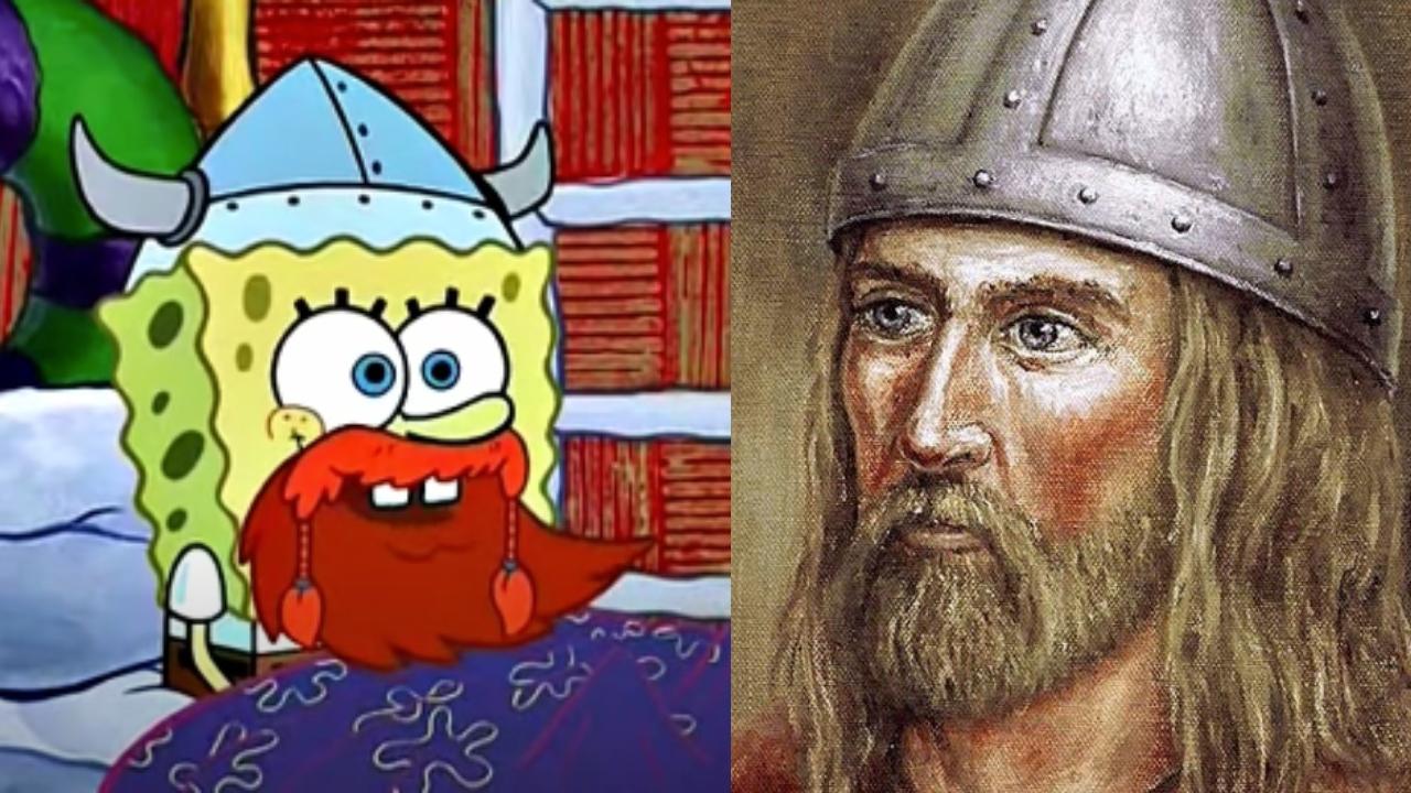 Bob Esponja Vikingo y Leif Erikson
