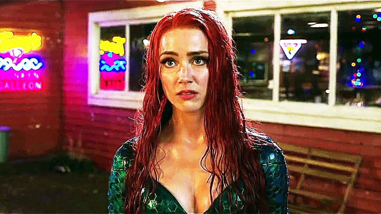 Amber Heard triste pos firmas para que deje Aquaman 2