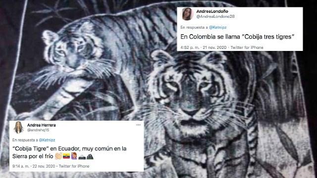 Cobija de tigres es famosa en latinoamérica