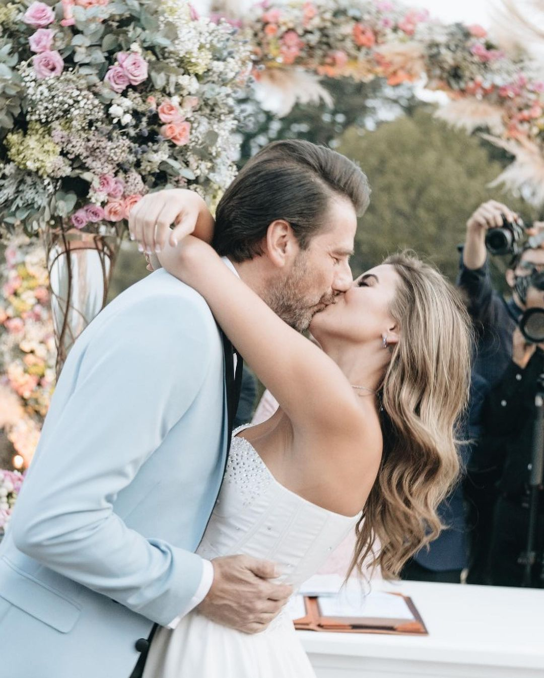 Eduardo Videgaray celebro su boda con Sofia Torres