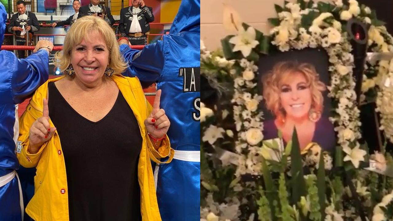 Funeral de Magda Rodriguez rodeado de famosos