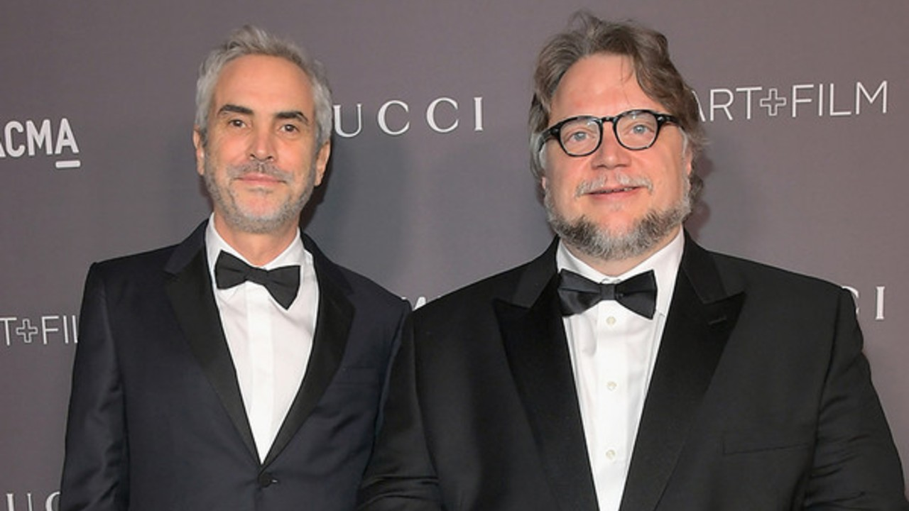 Guillermo del Toro y Alfonso Cuarón se unen en charla