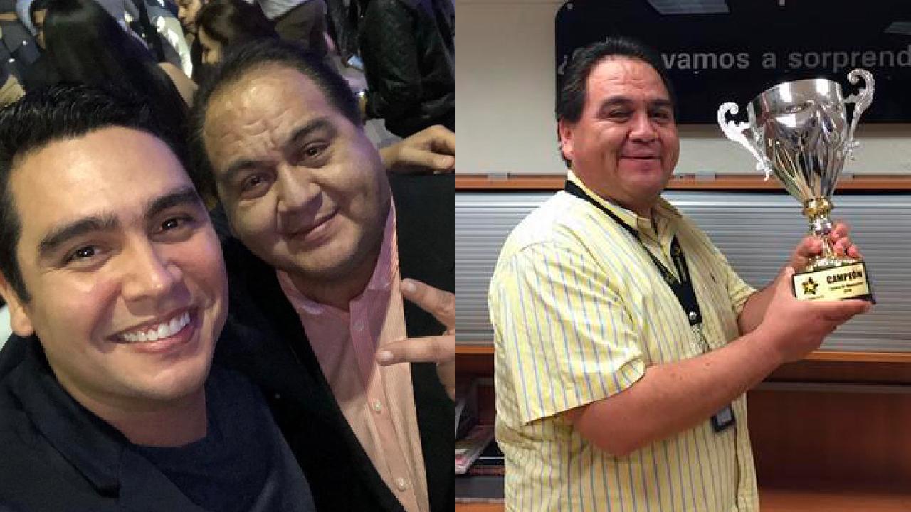Gustavo Morantes siempre sonriente en Multimedios