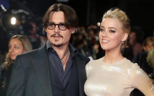 Johnny Depp y Amber Heard juntos