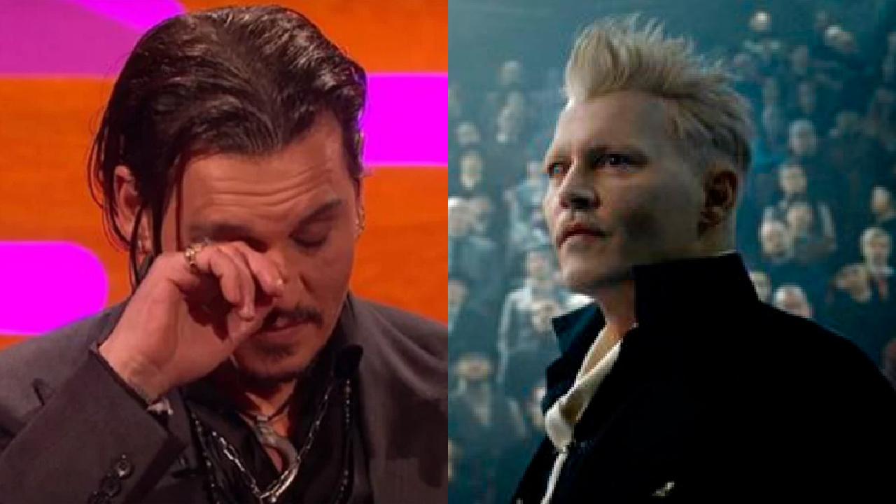 Johnny Depp salida Animales Fantásticos
