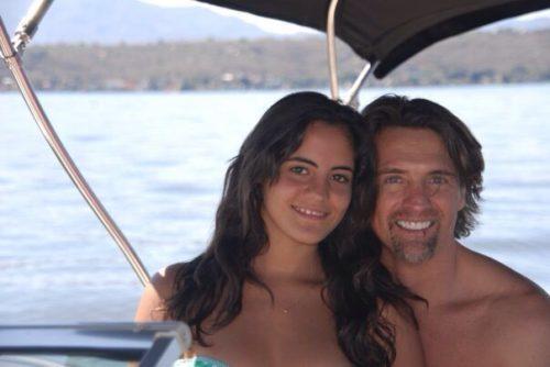 Juan Soler y su hija Velantina