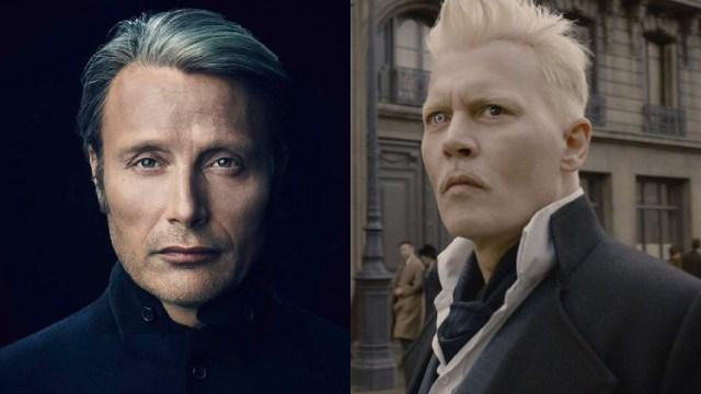 Mads Mikkelsen como Grindelwald en Animales Fantásticos