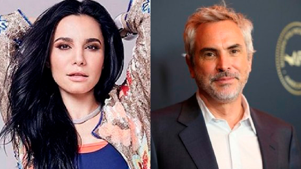 Martha Higareda y Alfonso Cuarón