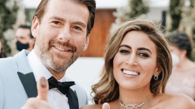 Sofia Rivera y Eduardo Videgaray se casaron