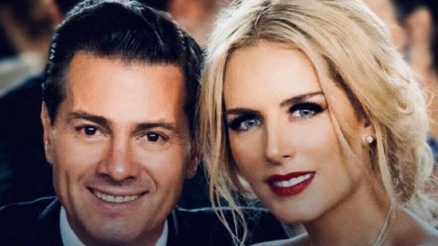 Tania Ruiz presume tremendo anillo de la mano de Enrique Peña Nieto