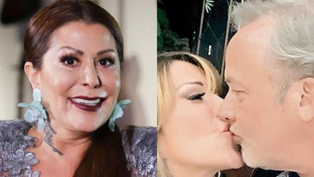 Alejandra Guzmán presume a su nuevo novio Lanz