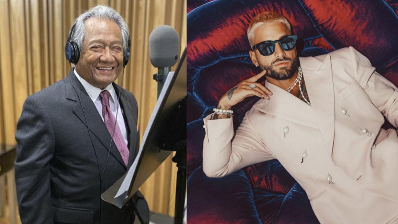 Armando Manzanero revela que quiere hacer música con Maluma