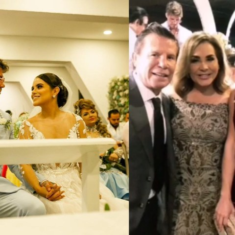 Michelle Escalle Odalis Gomez boda famosos