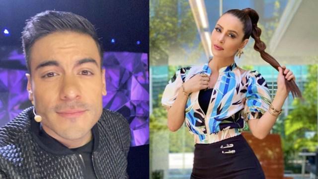 Captan a Carlos Rivera y Cynthia Rodríguez de compras y aseguran que ya se van a casar