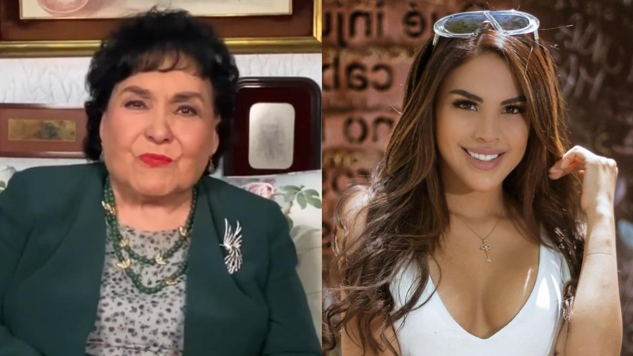 Carmen Salinas y Tefi valenzuela