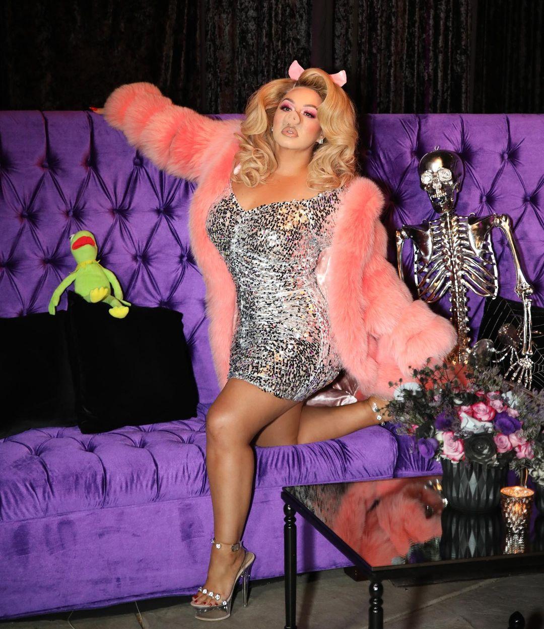 Chiquis Rivera se disfraza de Miss Piggy y la critican porque luce igual