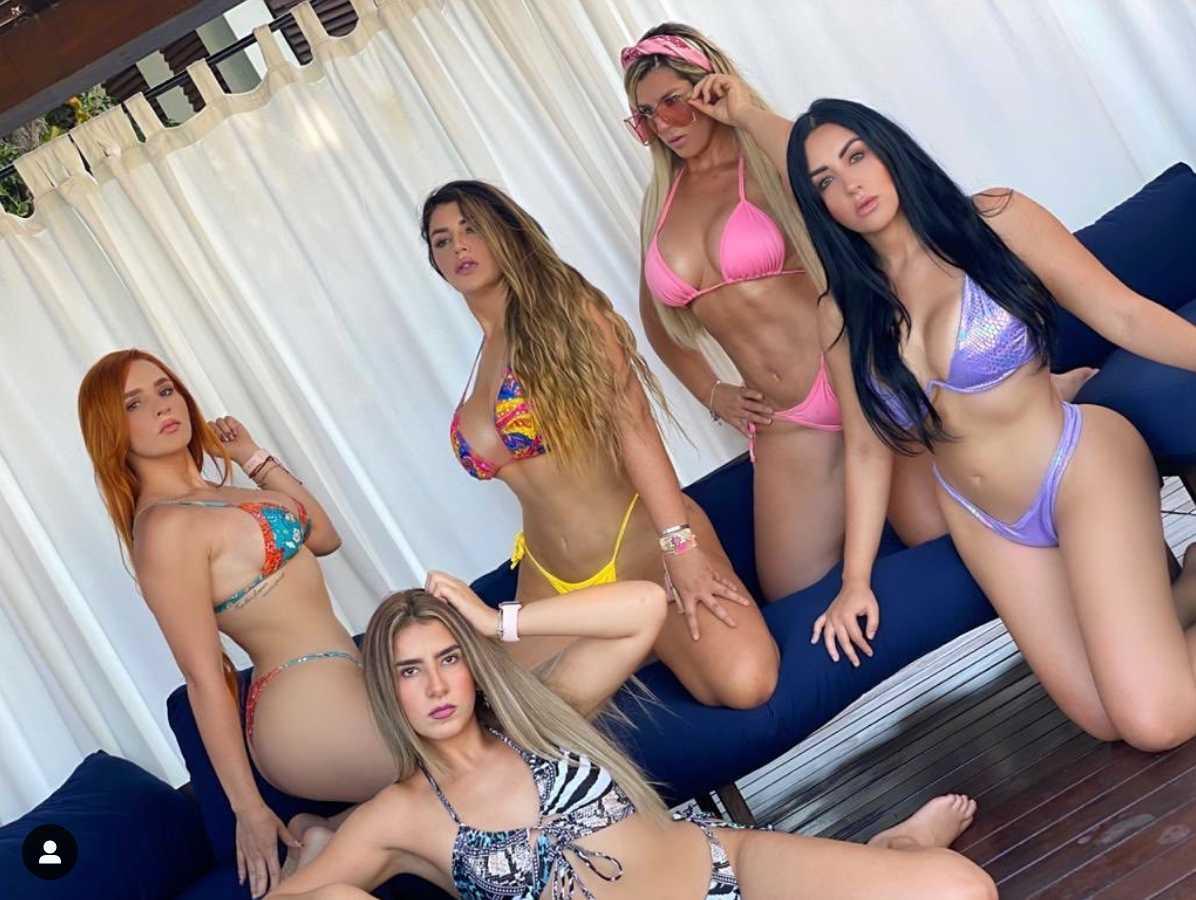 Vicente Fernández Jr criticado por foto con sus cuñadas