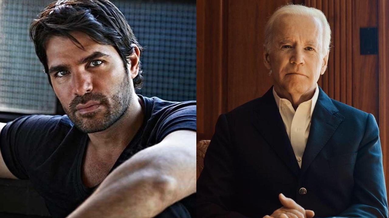 Joe Biden y Eduardo Verástegui