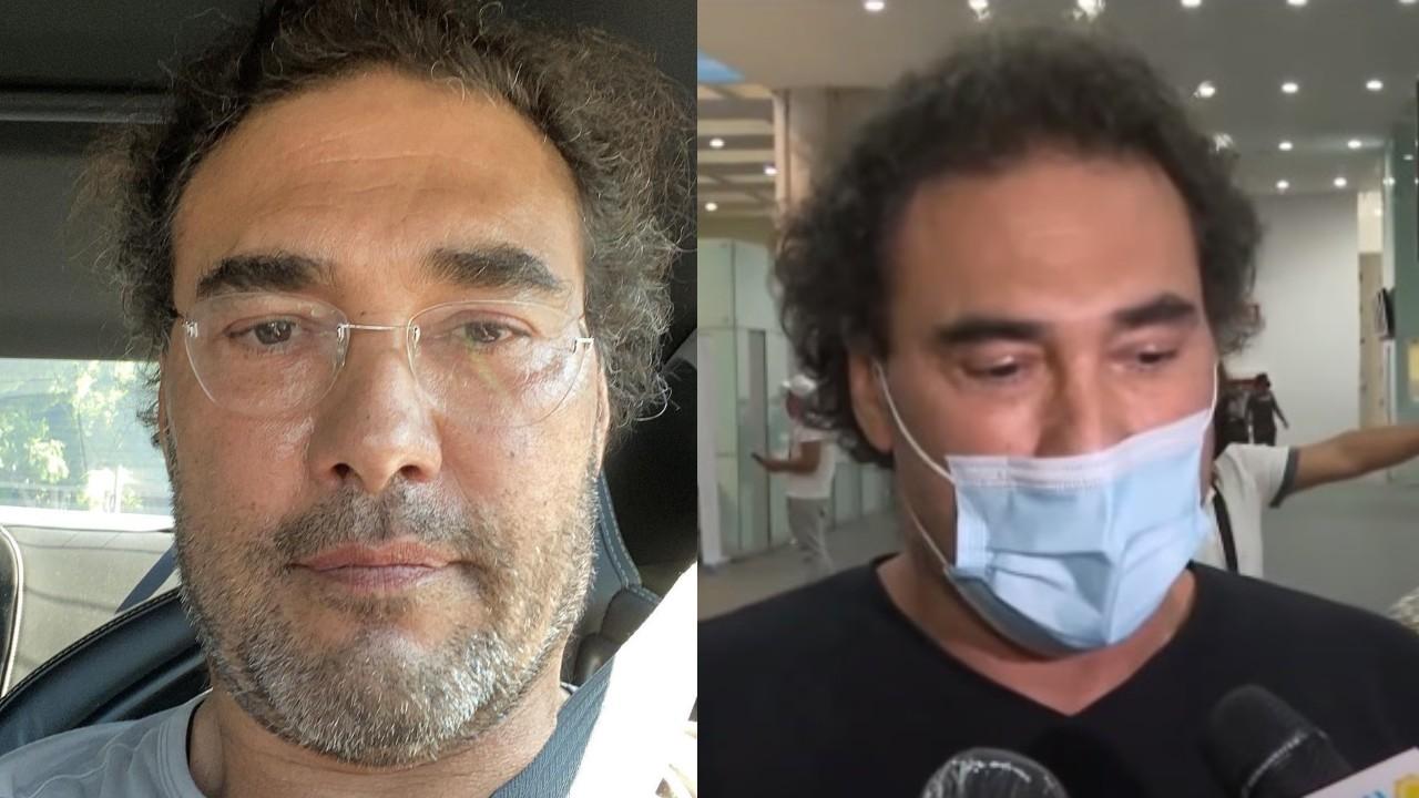 Eduardo Yáñez triste