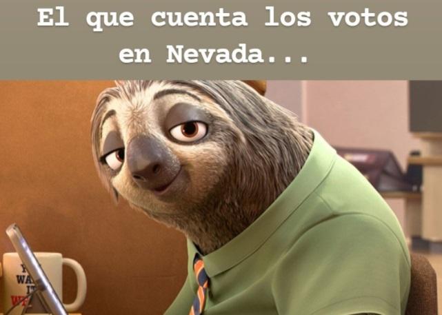 Memes elecciones 2020 Nevada
