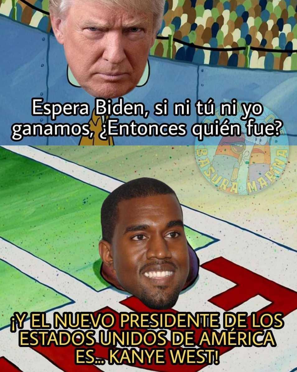 Meme de Kanye West en las elecciones de EEUU