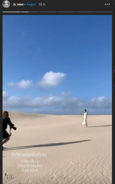Vanessa Valladares vestido blanco de novia