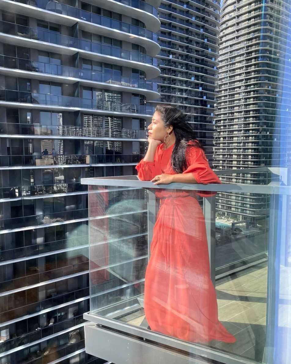 Yalitza Aparicio presume su vestido para los Latin Grammy 2020