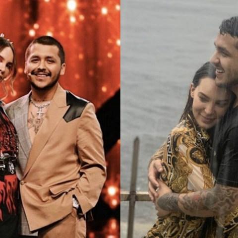 Belinda y Christian Nodal celebran aniversario de novios en redes sociales