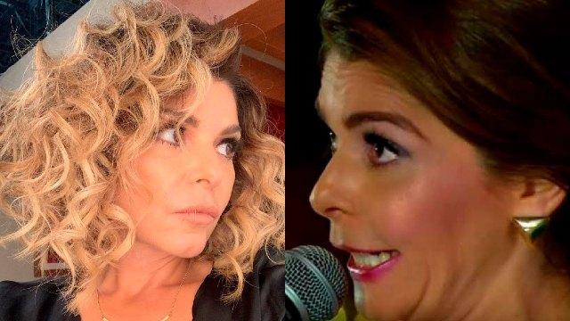 Itatí Cantoral cantando la guadalupana