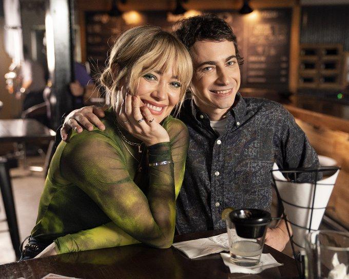 Hilary Duff y Adam Lamberg en Lizzie McGuire