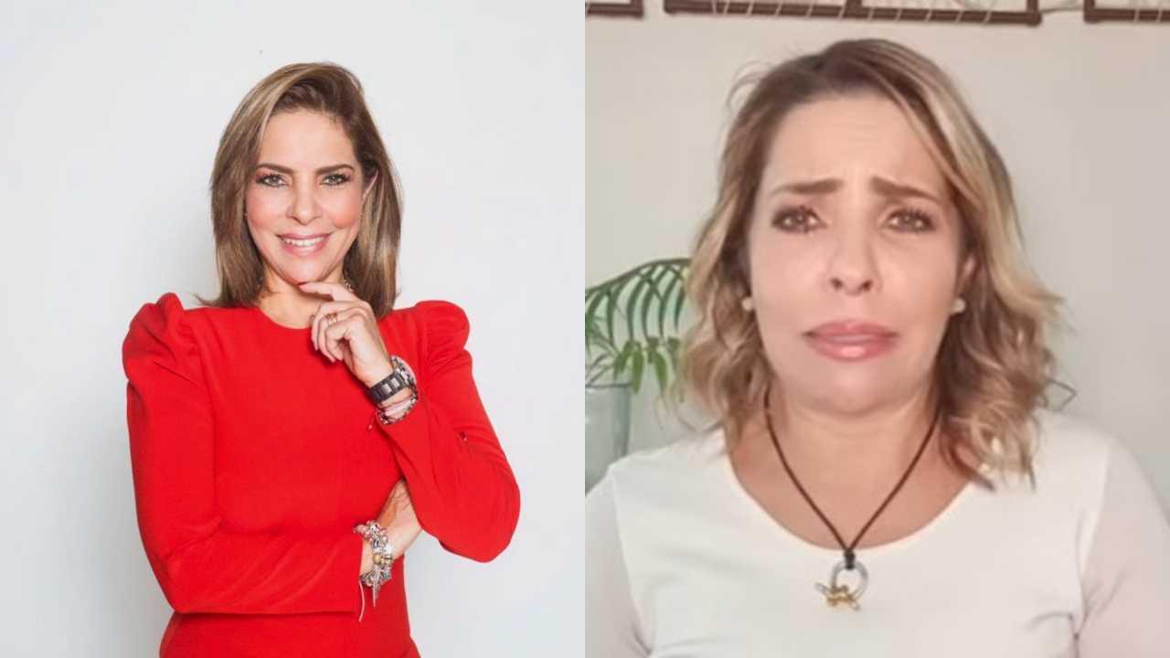 Ana María Alvarado da a conocer la muerte de su mamá