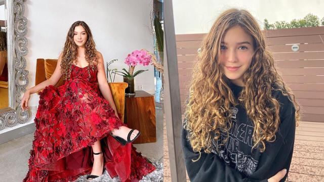 Mia Rubin vestido rojo