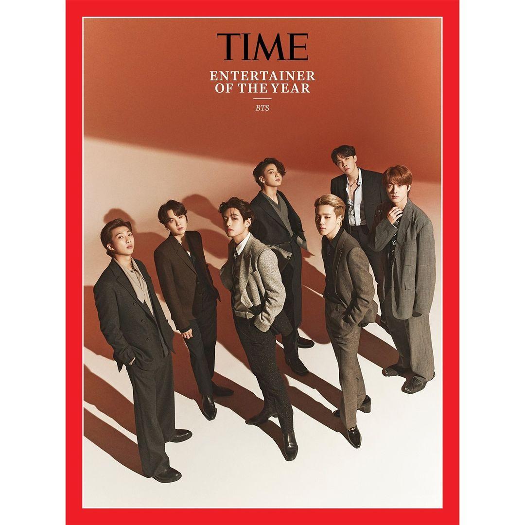 BTS es nombrado como Artista del año por la revista TIME