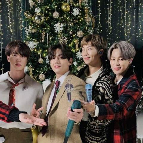 BTS sorprende con su nuevo tema navideño