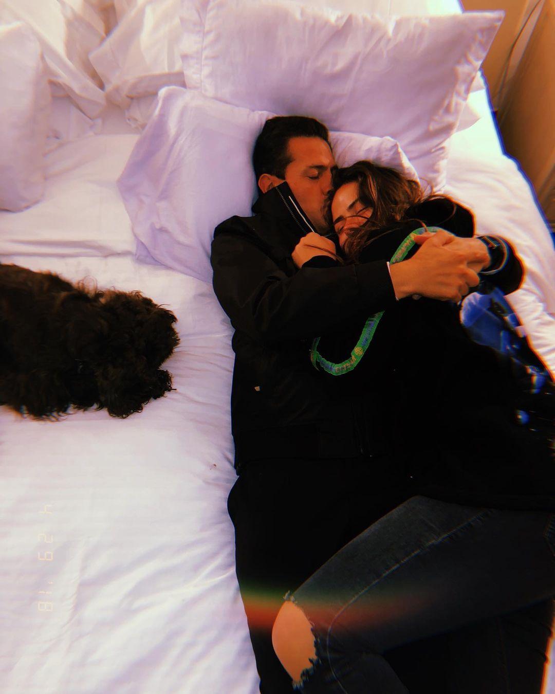 Enrique peña Nieto y su hija Nicole