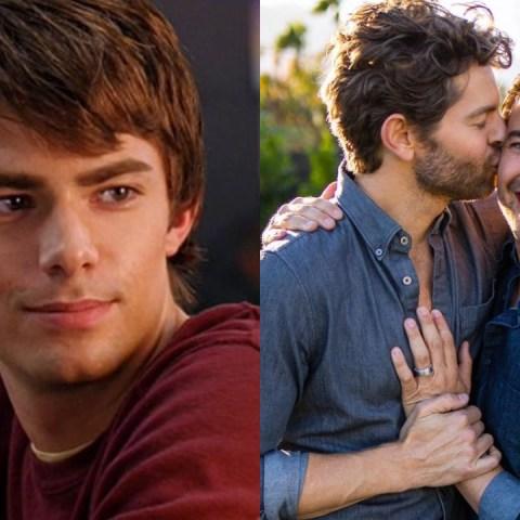 Jonathan Bennett, actor de 'Mean Girls' anuncia compromiso con su novio