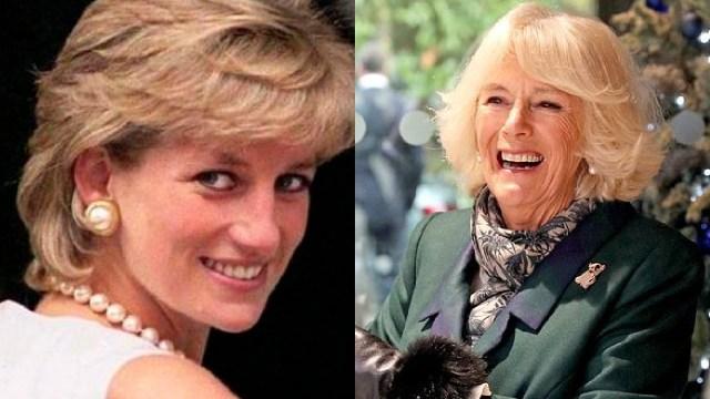 Lady Di y Camilla Parker con las mismas joyas