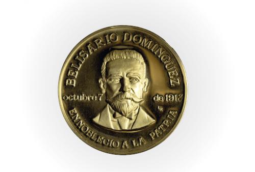foto Medalla Belisario Domínguez