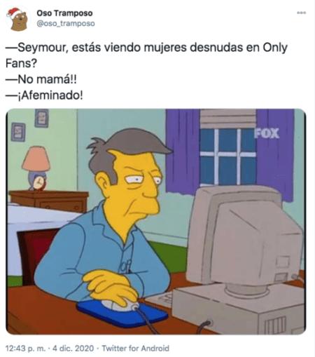 Meme seymour los simpson only fans