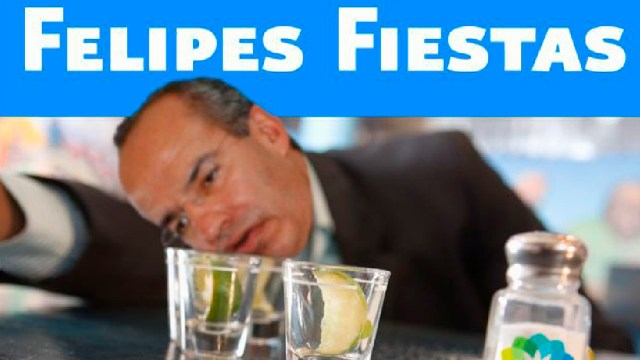 Memes Guadalupe Reyes y Felipe Calderón