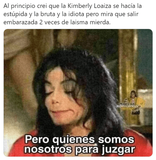 Memes de Kimberly Loaiza embarazada