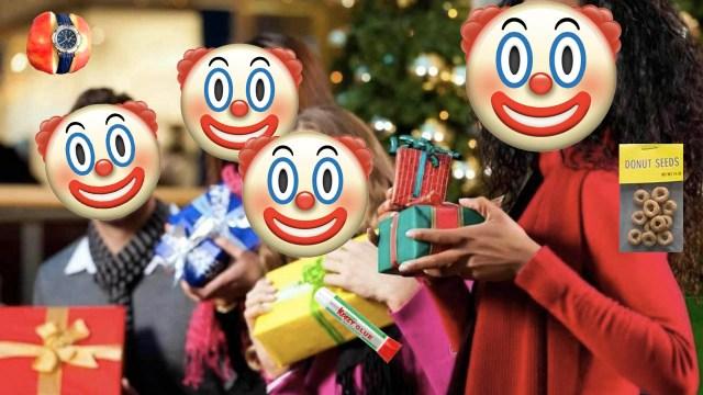13 regalos de broma para el intercambio navideño