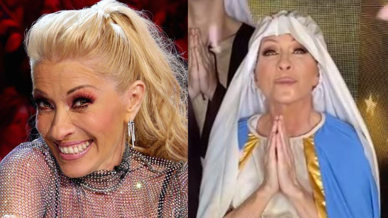 Yuri se disfraza de la Virgen María para un video en TikTok y la critican