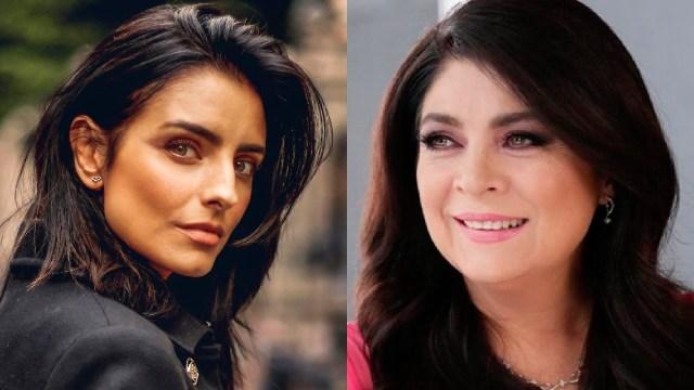 Aislinn Derbez y Victoria Ruffo son idénticas en una foto