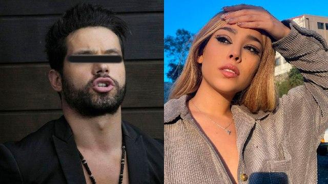 Eleazar Gómez enojado or denuncia de Danna Paola