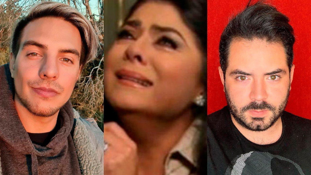 Vadhir Derbez y José Eduardo se pelean por criticar a Victoria Ruffo