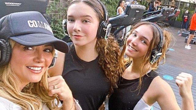 Andrea Legarreta, Mia Rubin y Nina Rubin