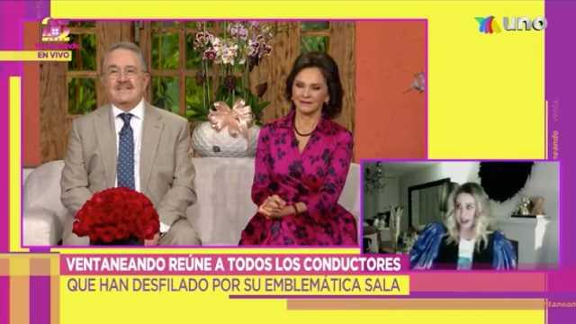 Atala Sarmiento regresa a Ventaneando