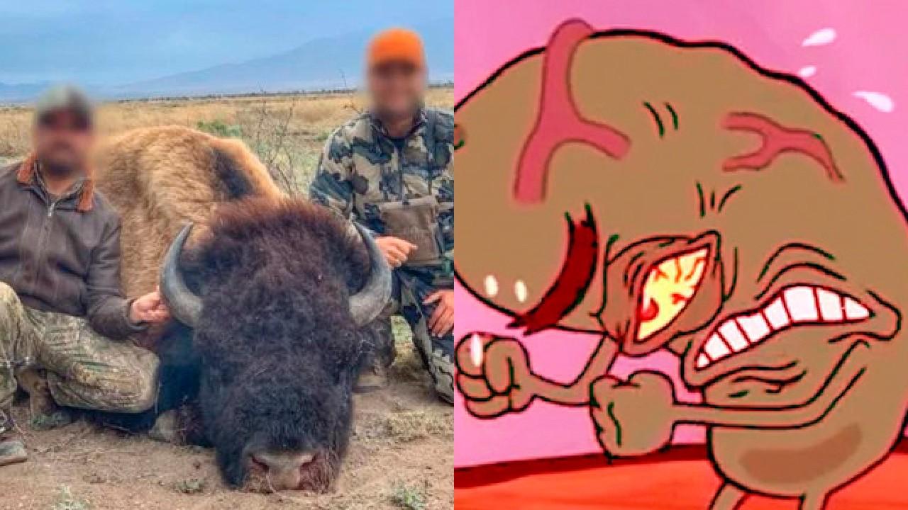 cacería de bisontes en coahuila